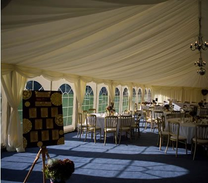 winter wedding marquee hire
