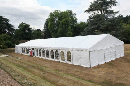 9mx24m Marquee for a Wedding in Surrey