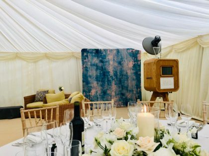 On this occasion our customer opted for a vintage style photo booth to capture the event