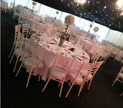 winter weddings marquee hire